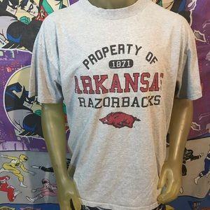 University Of Arkansas Razorbacks Extra Large Tee